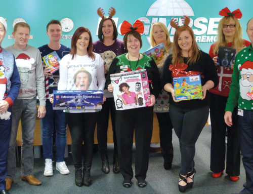 Customers help McGimpseys raise RBA funds